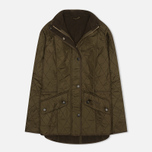 Barbour Cavalry Polarquilt Women's jacket Olive photo- 0