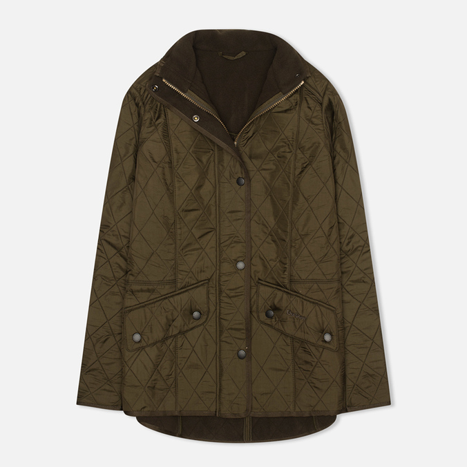 Barbour Cavalry Polarquilt Women's jacket Olive