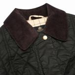 Женская стеганая куртка Barbour Equestrian Belsay Olive фото- 2