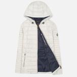 Женская стеганая куртка Barbour Landry Baffle Quilt Silver Ice/Navy фото- 1