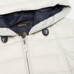 Barbour Landry Quilt Silver Women's jacket Ice/Navy photo- 2
