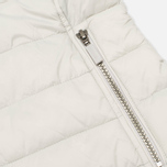Barbour Landry Quilt Silver Women's jacket Ice/Navy photo- 5
