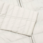 Barbour Landry Quilt Silver Women's jacket Ice/Navy photo- 3