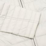 Женская стеганая куртка Barbour Landry Baffle Quilt Silver Ice/Navy фото- 3