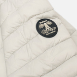 Barbour Landry Quilt Silver Women's jacket Ice/Navy photo- 4