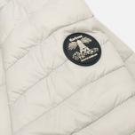 Женская стеганая куртка Barbour Landry Baffle Quilt Silver Ice/Navy фото- 4