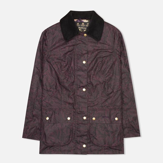 Женская вощеная куртка Barbour Ruskin Printed Acanthus