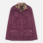 Женская стеганая куртка Barbour Ruskin Quilt Damson/Acanthus фото- 0