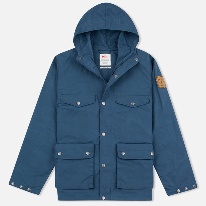 Женская куртка Fjallraven Greenland Uncle Blue