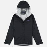 Женская куртка ветровка Patagonia Torrentshell Black фото- 0