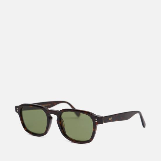 Солнцезащитные очки RETROSUPERFUTURE Luce Havana/Green