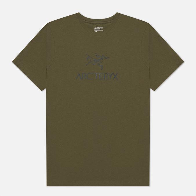 Фото - Мужская футболка Arcteryx ArcWord футболка arcteryx arcteryx playground женская