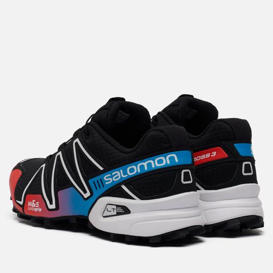 Мужские кроссовки Salomon Sneakers Speedcross 3 ADV Black/Racing Red/Blue