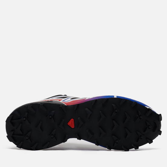 Мужские кроссовки Salomon Sneakers Speedcross 3 ADV Black/Surf The Web/Goji Berry