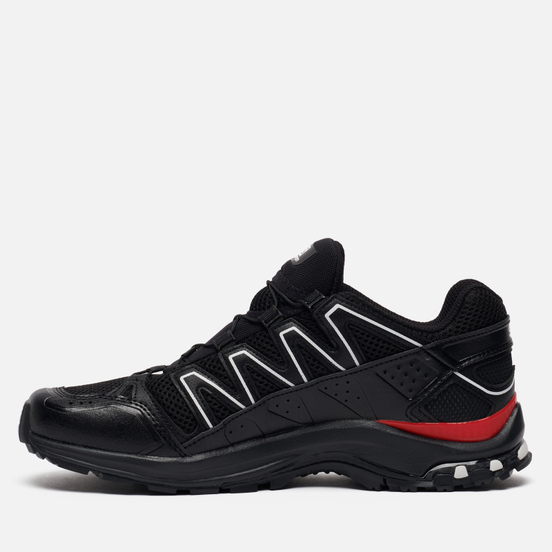 Мужские кроссовки Salomon Sneakers XA-Comp ADV Black/White/Goji Berry