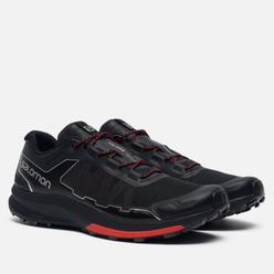 Мужские кроссовки Salomon Sneakers Ultra Raid Black/Racing Red/Silver Metallic