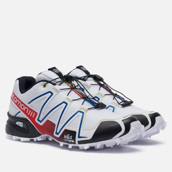 Фото - Мужские кроссовки Salomon Sneakers Speedcross 3 Racing кроссовки мужские salomon l40684000 speedcross 5 черный текстиль l40684000 14 размер 45