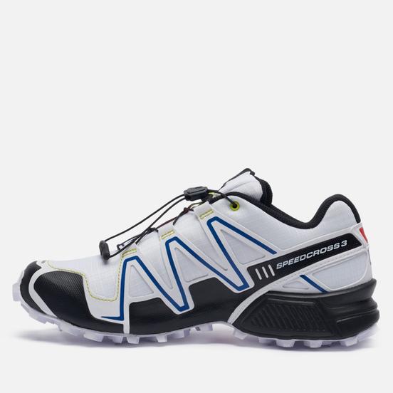 Мужские кроссовки Salomon Sneakers Speedcross 3 Racing White/ Black/ Racing Red