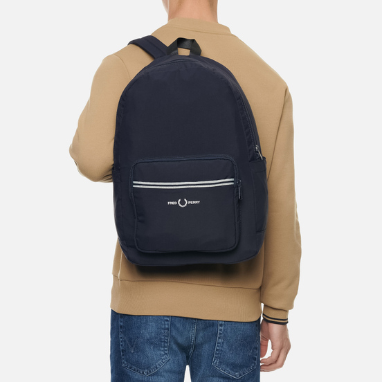 Рюкзак Fred Perry Sports Twill Navy