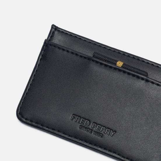 Держатель для карточек Fred Perry Pique Texture Card Holder Black