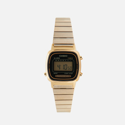 Наручные часы CASIO Collection Retro LA670WEGA-1E Gold/Black
