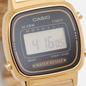 Наручные часы CASIO Collection Retro LA670WEGA-1E Gold/Black фото - 2