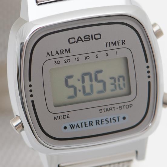 Наручные часы CASIO Collection Retro LA670WEM-7E Silver