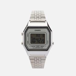 Наручные часы CASIO Collection LA680WEA-7E Silver/Silver