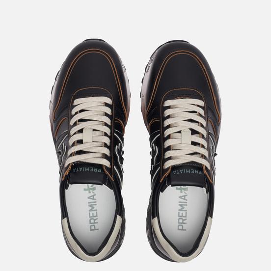 Мужские кроссовки Premiata Lander 4946 Black