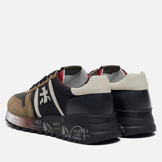 Мужские кроссовки Premiata Lander 4949 Olive/Black