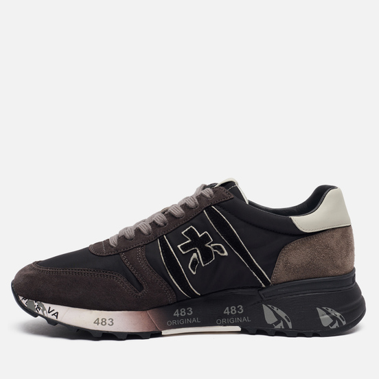 Мужские кроссовки Premiata Lander 4951 Brown/Black
