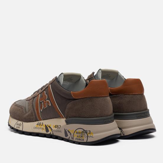 Мужские кроссовки Premiata Lander 5360 Light Grey/Brown