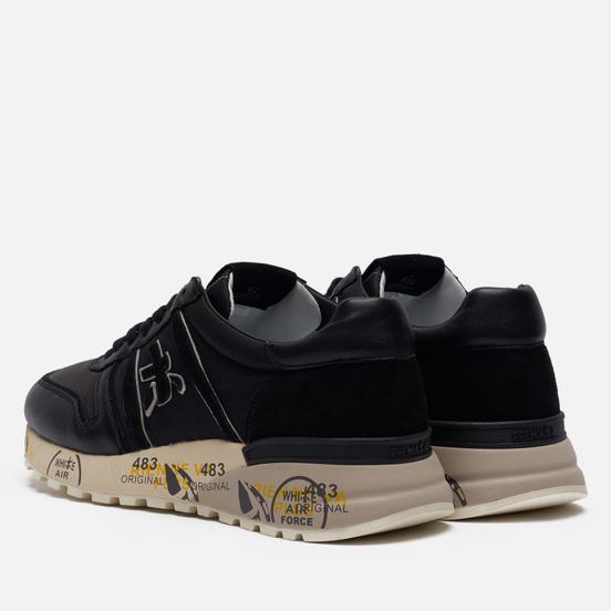 Мужские кроссовки Premiata Lander 5363 Black