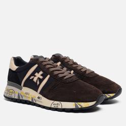 Мужские кроссовки Premiata Lander 4142 Brown/Black