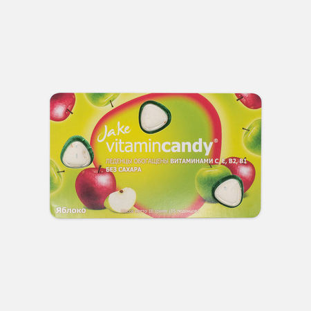 Леденцы JAKE Vitamin C Apple 18.75g