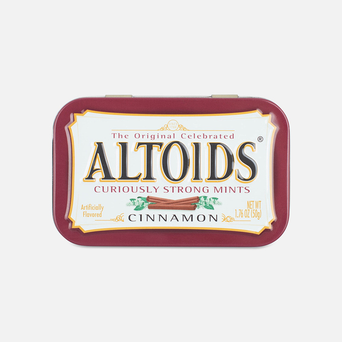 Леденцы Altoids Cinnamon Curiosly Strong