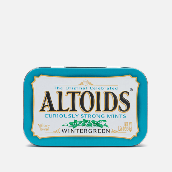 Леденцы Altoids Wintergreen Curiosly Strong