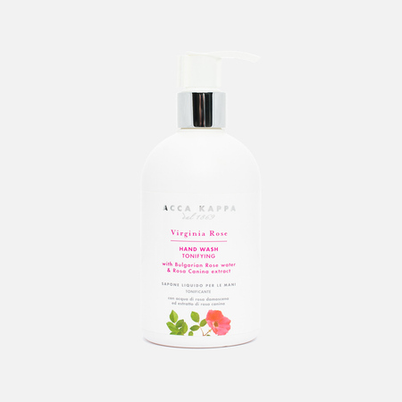 Acca Kappa Bulgarian Rose & Rosa Canina Liquid Soap 300ml