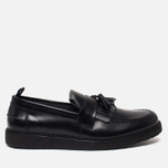 Мужские ботинки лоферы Fred Perry x George Cox Tassel Leather Black фото- 0