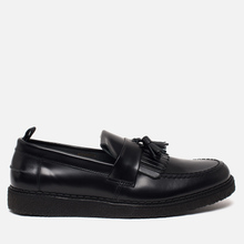 Ботинки лоферы Fred Perry x George Cox Tassel Leather Black фото- 3