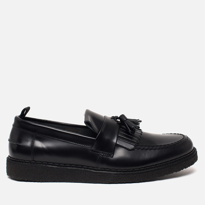 Fred Perry x George Cox Tassel Leather Men's Loafer Black