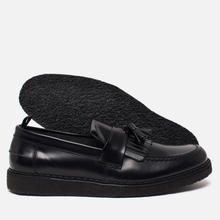 Ботинки лоферы Fred Perry x George Cox Tassel Leather Black фото- 4