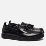 Мужские ботинки лоферы Fred Perry x George Cox Tassel Leather Black фото- 1
