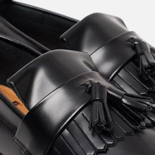 Ботинки лоферы Fred Perry x George Cox Tassel Leather Black фото- 5