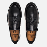 Fred Perry x George Cox Tassel Leather Men's Loafer Black photo- 4