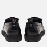 Мужские ботинки лоферы Fred Perry x George Cox Tassel Leather Black фото- 3
