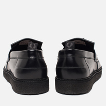 Ботинки лоферы Fred Perry x George Cox Tassel Leather Black фото- 2