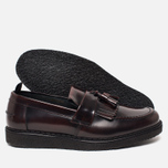Ботинки лоферы Fred Perry x George Cox Tassel Leather Ox Blood фото- 2