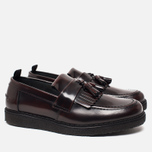 Ботинки лоферы Fred Perry x George Cox Tassel Leather Ox Blood фото- 1