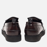 Ботинки лоферы Fred Perry x George Cox Tassel Leather Ox Blood фото- 3